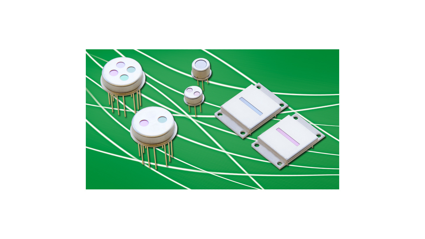 Logo Infrared detectors and arrays PYROSENS