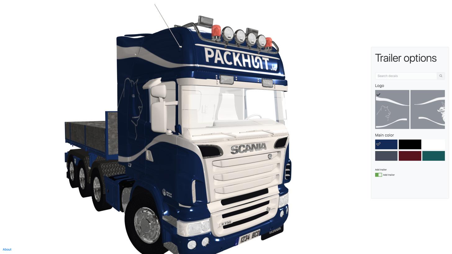 Logo Packhunt.io for automotive