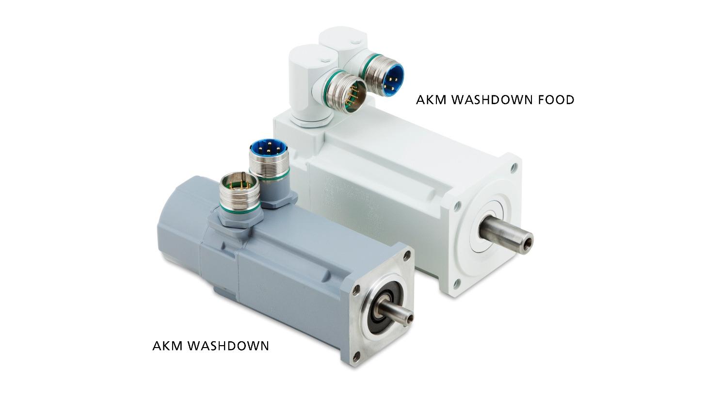 Logo AKM Washdown & Washdown Food Servomotor