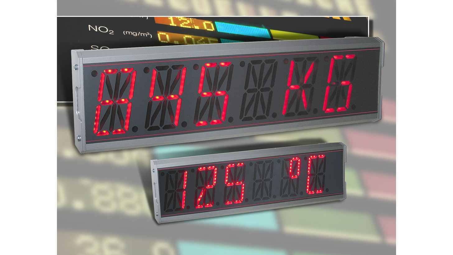 Logo LED-large-display LDS 57/100/200 - SlimeLine Design