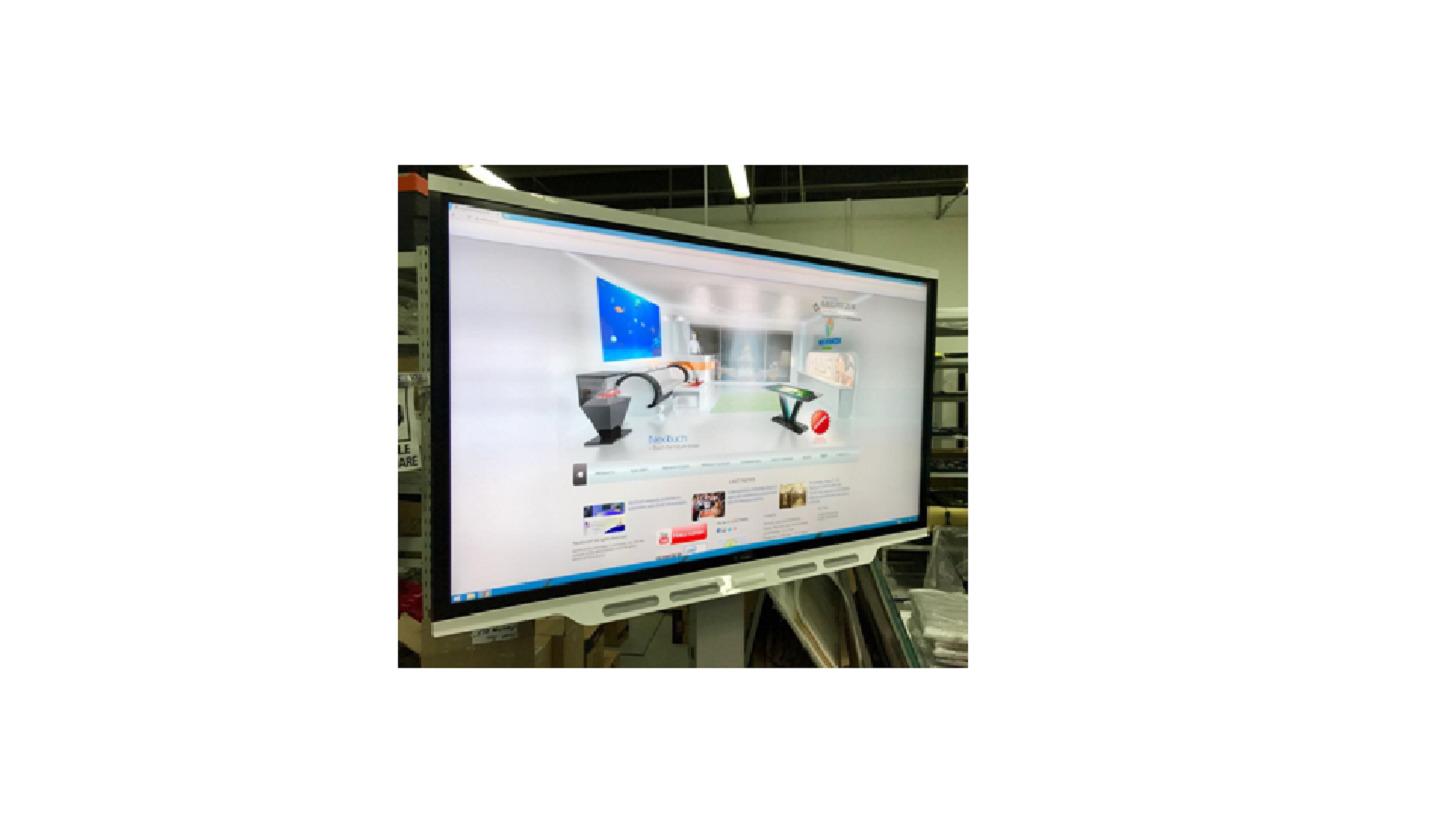 "Logo Interactive Panel Nextouch 86"""