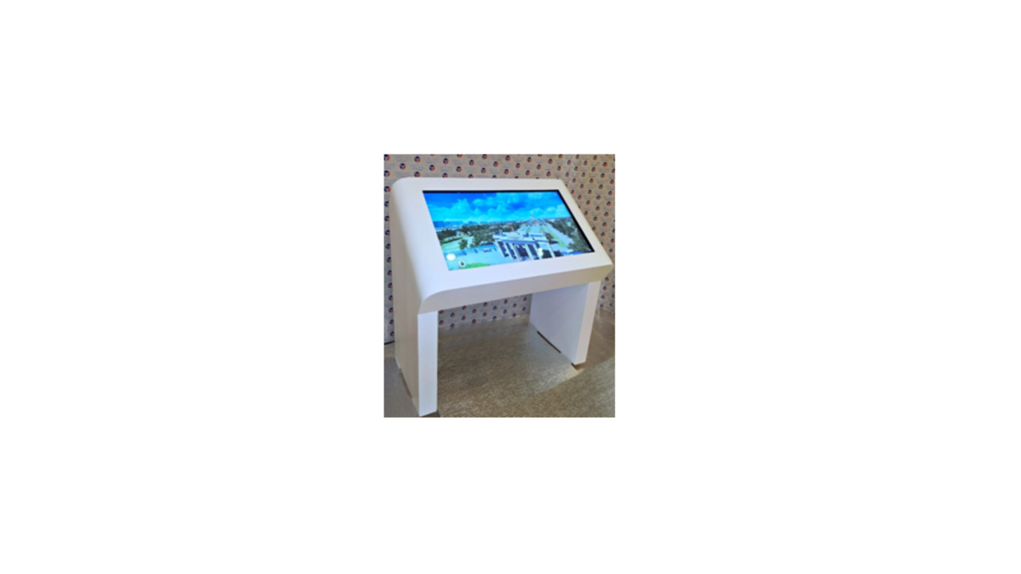 Logo inclined table NexTable 27-65''