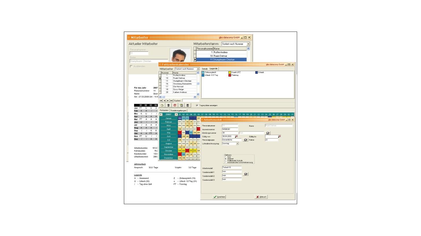 Logo bisoft PZE -  Personalzeiterfassung