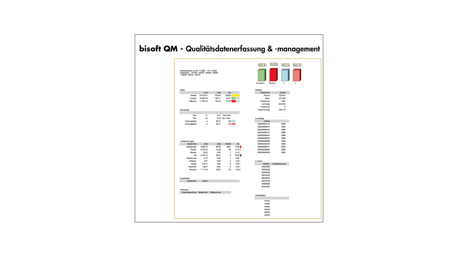 Logo bisoft QM - Quality Management