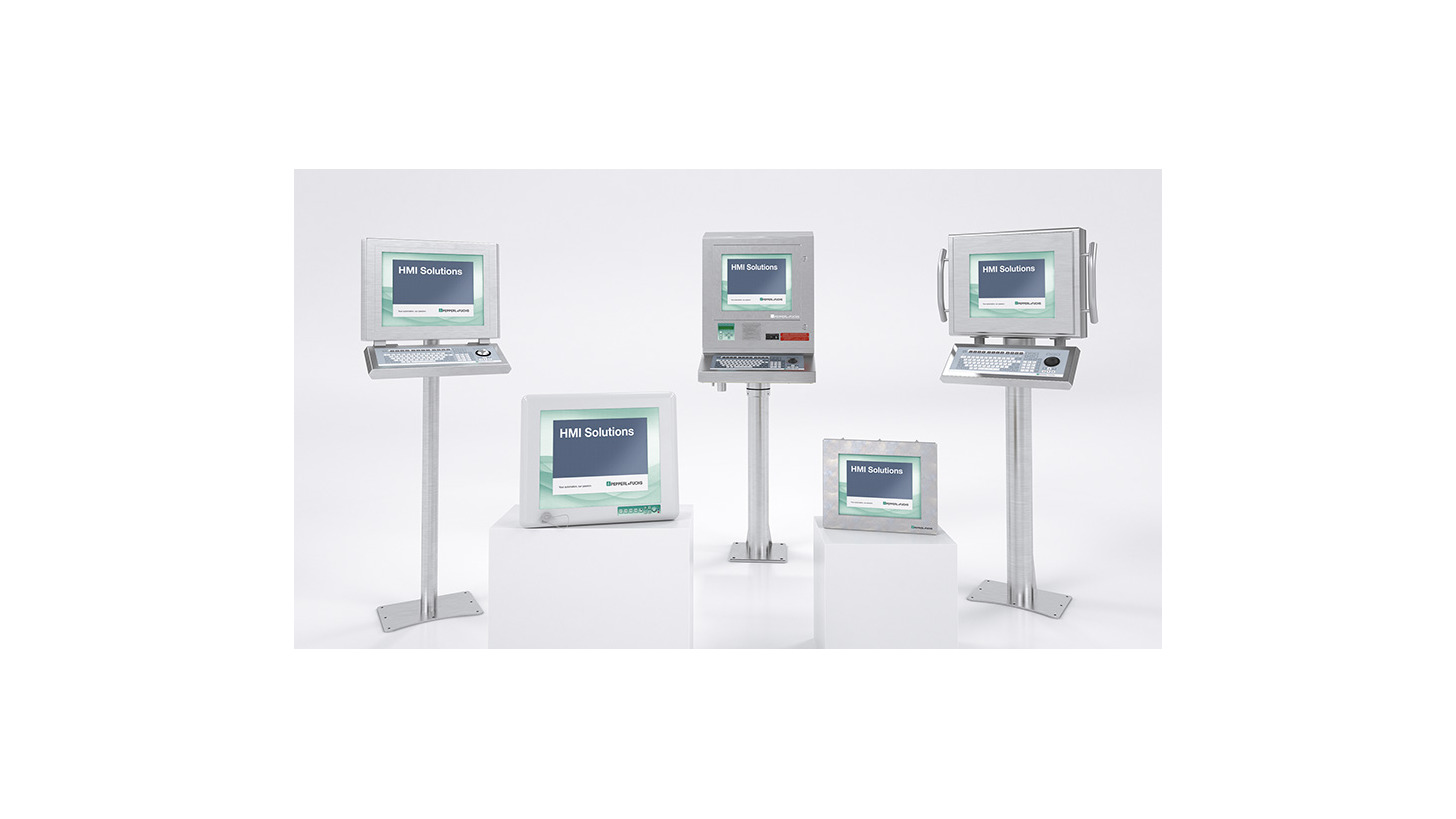 Logo Industrial Monitors and HMI Solutions