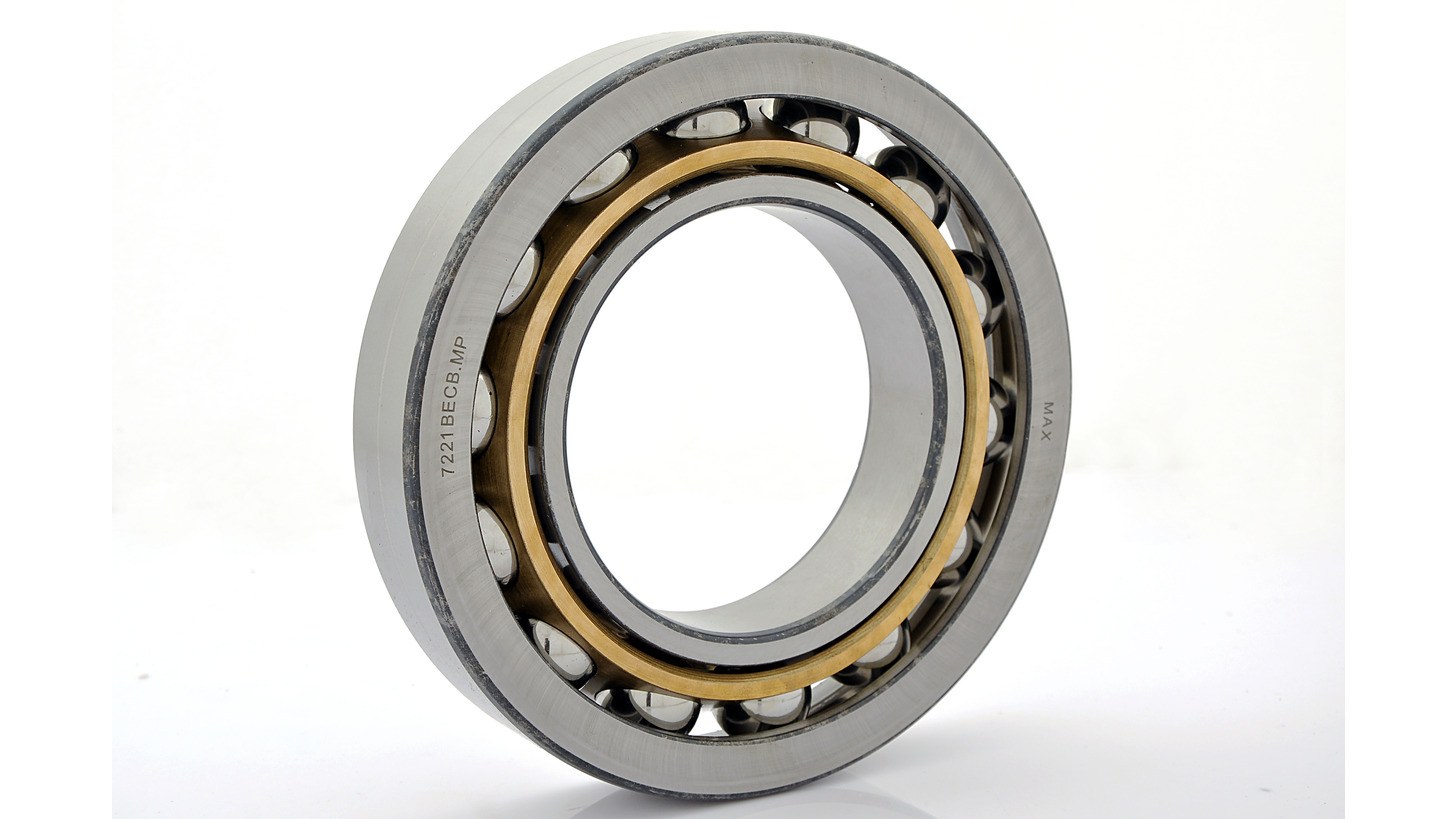 Logo Single Row & Double Row Angular Contact Ball Bearings