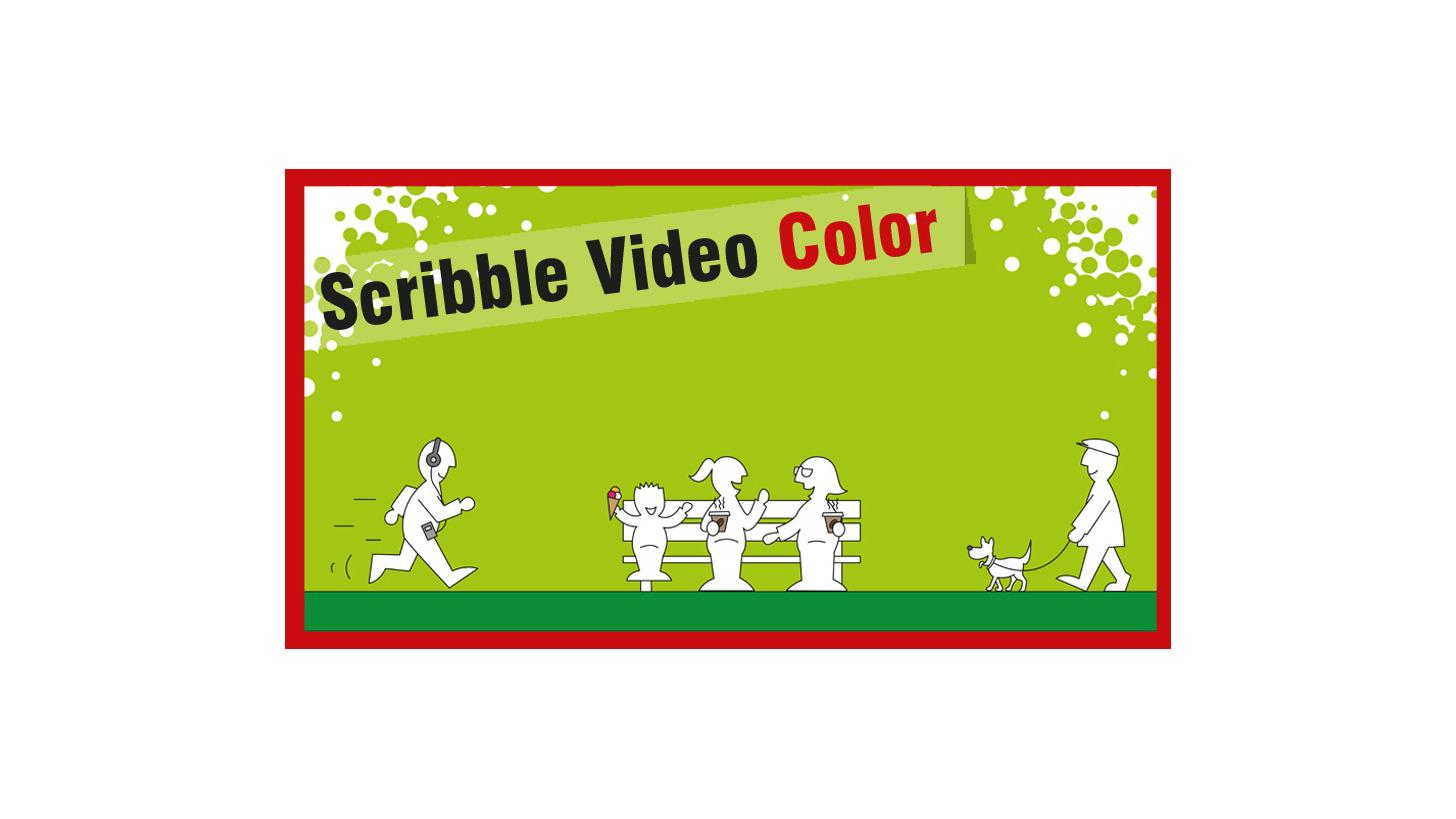 Logo Scribble Video Color