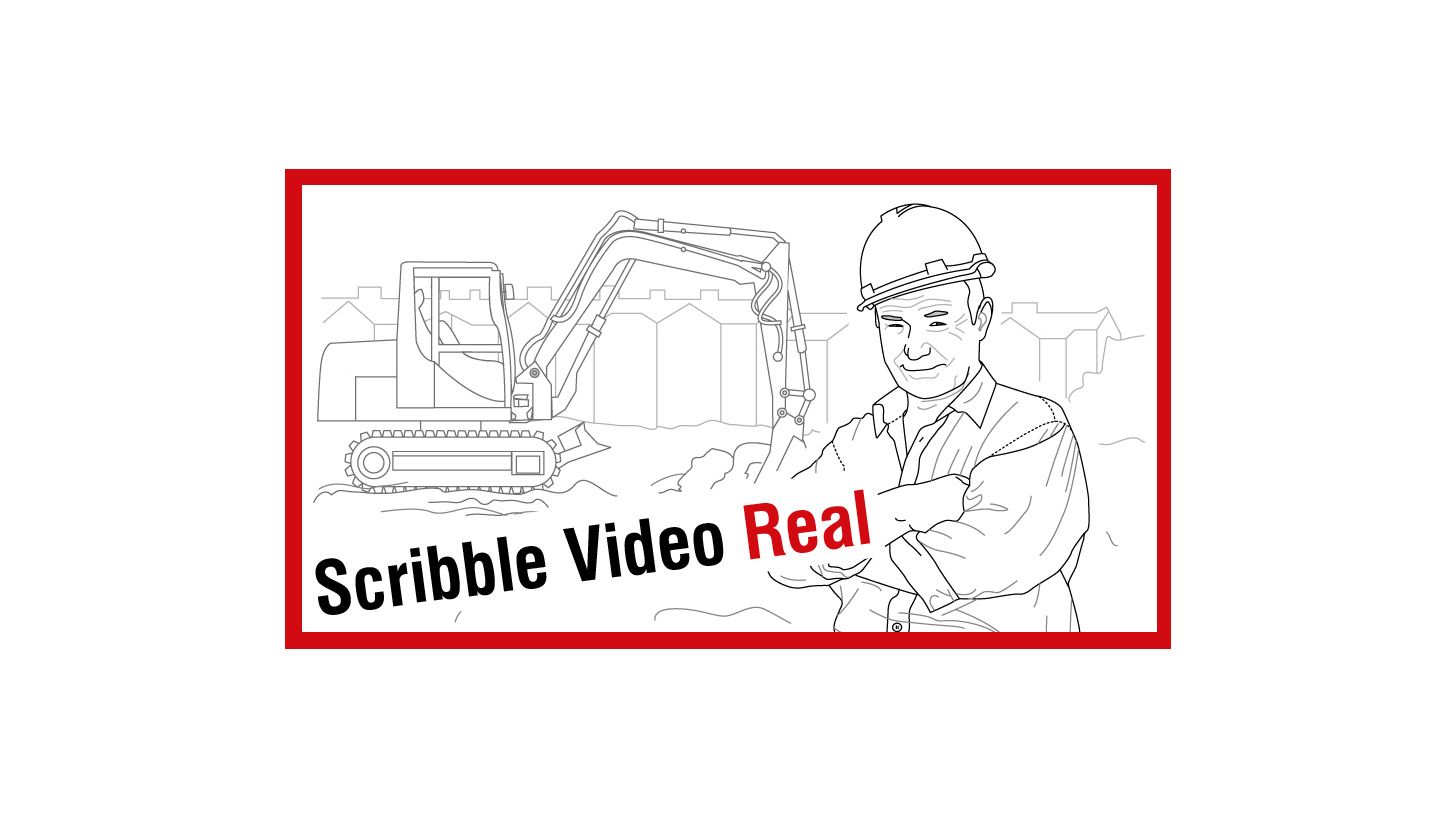 Logo Scribble Video Real