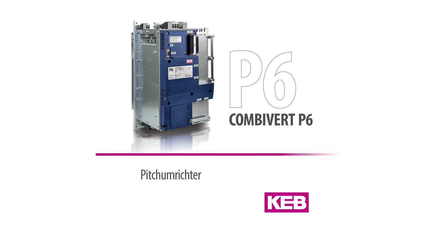 Logo KEB COMBIVERT P6 - Pitchumrichter