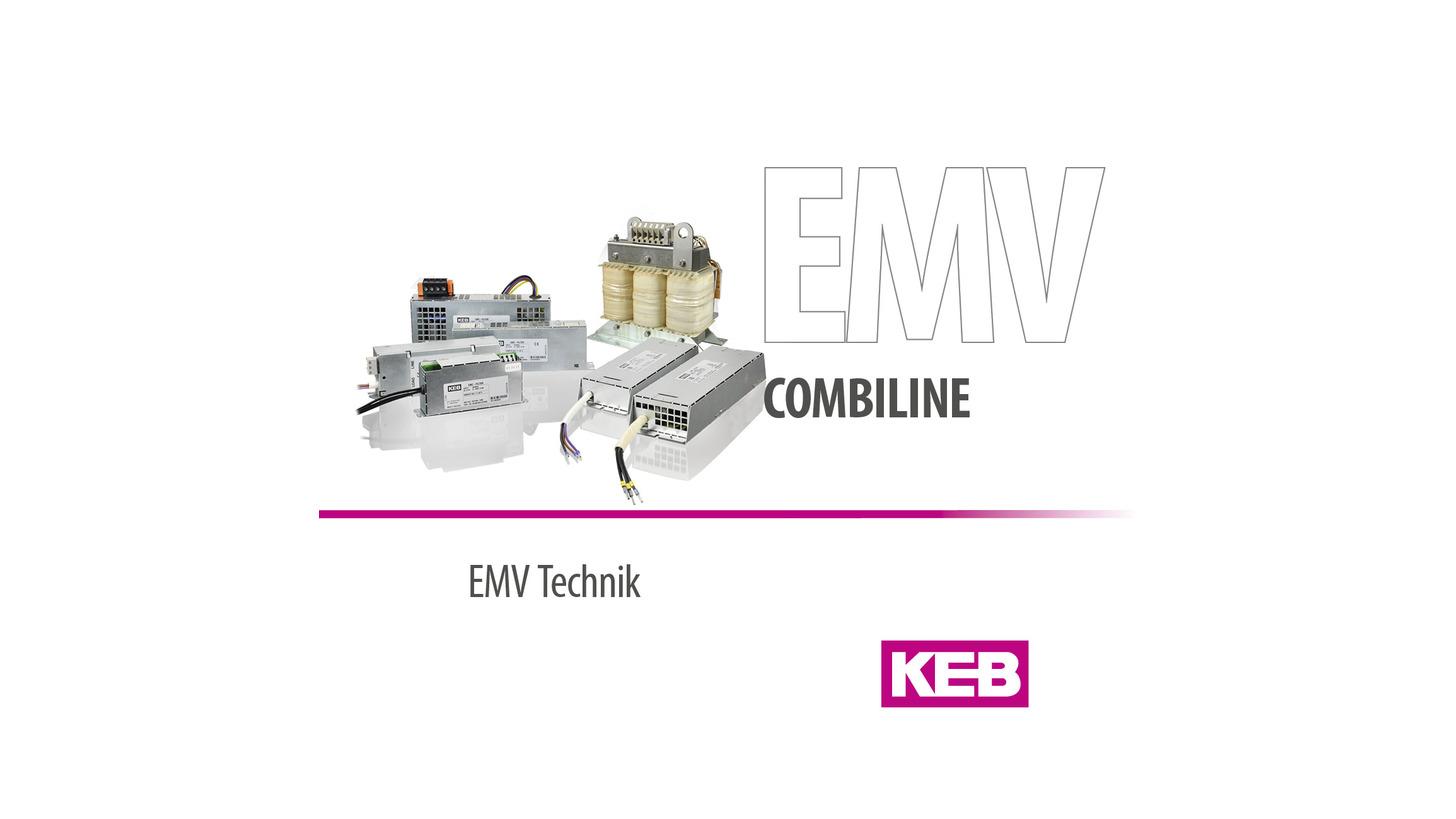 Logo KEB COMBILINE - EMV Technik