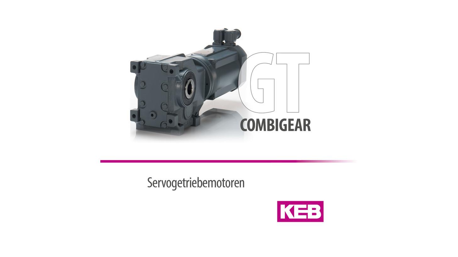 Logo KEB COMBIGEAR - Servo gear motors