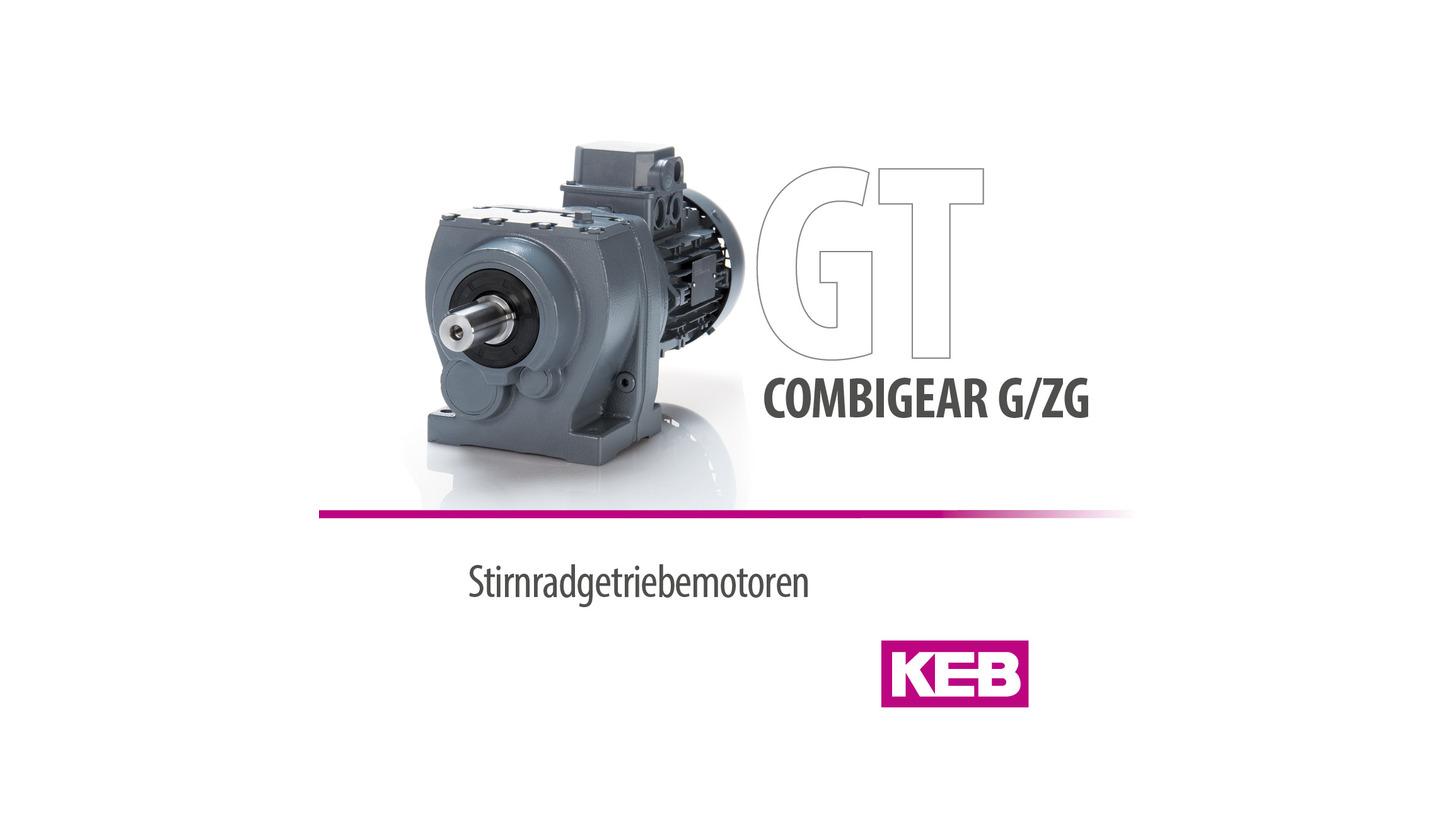 Logo KEB COMBIGEAR - Helical Geared Motors