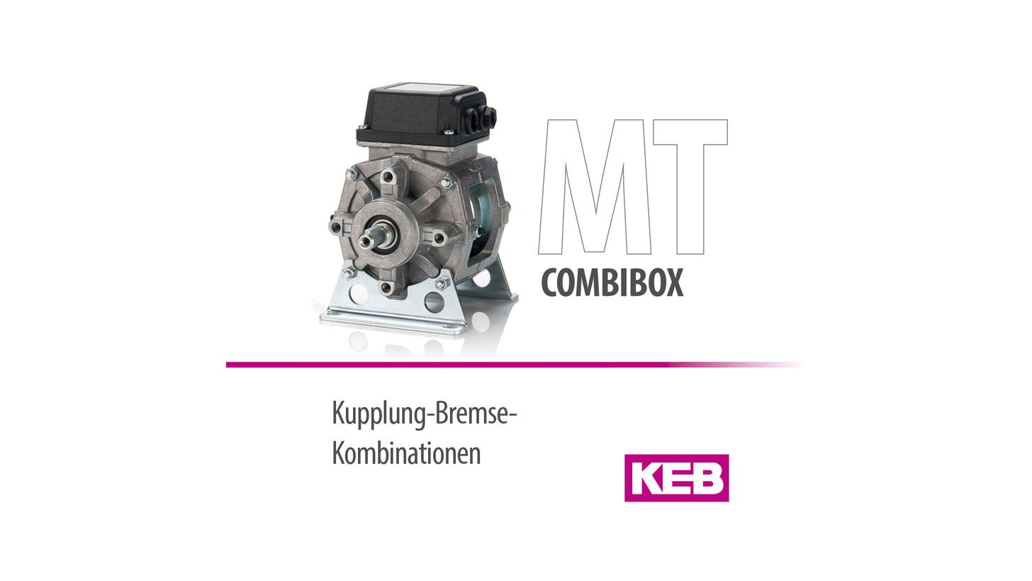 Logo KEB COMBIBOX - Kupplung-Bremse-Kombinat.