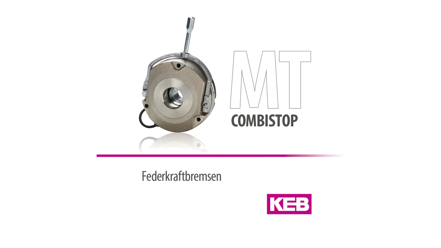 Logo KEB COMBISTOP - Spring-applied brakes