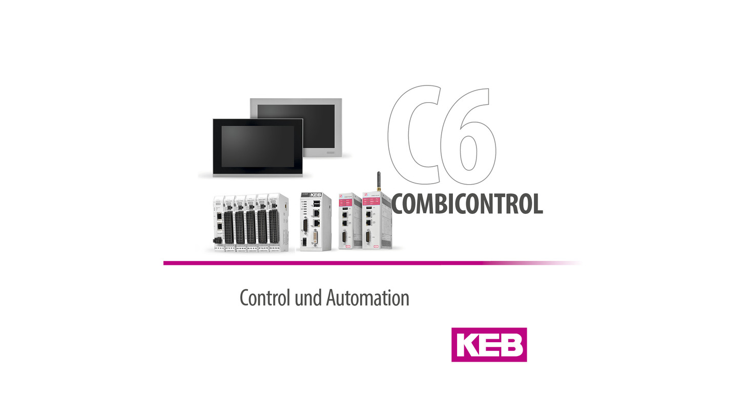 Logo KEB COMBICONTROL C6 - Product Family