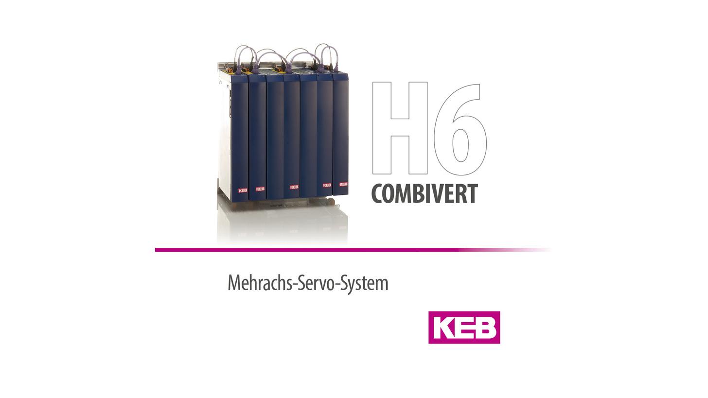 Logo KEB COMBIVERT H6 - Servo Drive