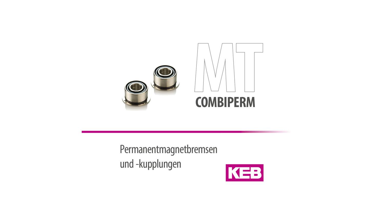 Logo KEB COMBIPERM - Permanent magnet clutch