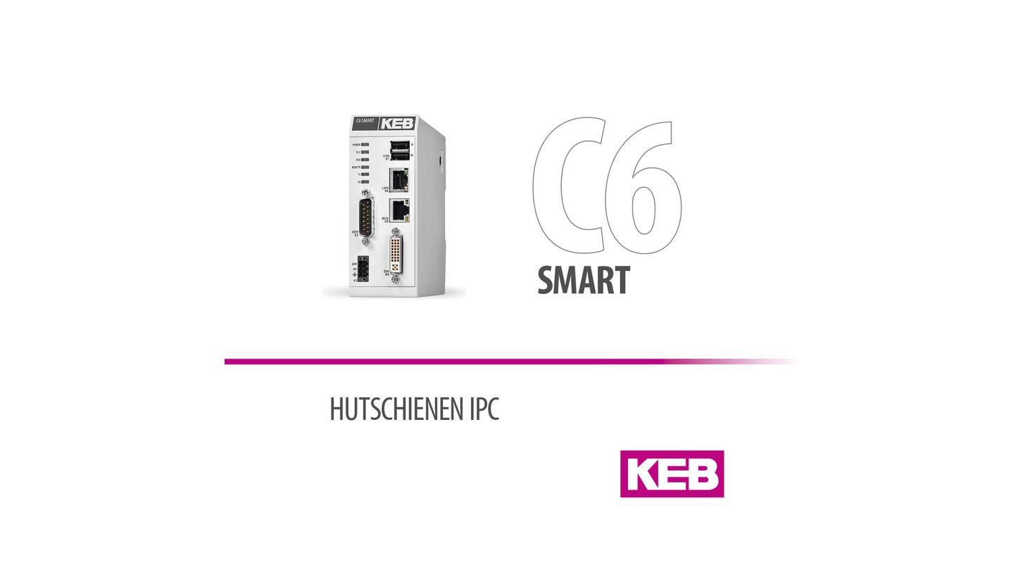 Logo KEB COMBICONTROL C6 SMART - Compact-IPC