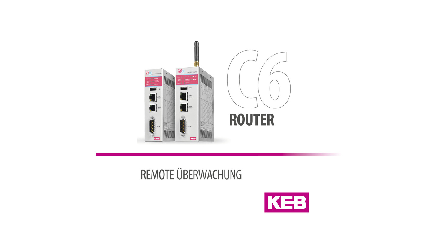 Logo KEB COMBICONTROL C6 ROUTER