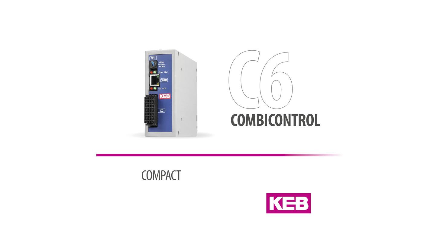 Logo KEB COMBICONTROL C6 COMPACT - Steuerung