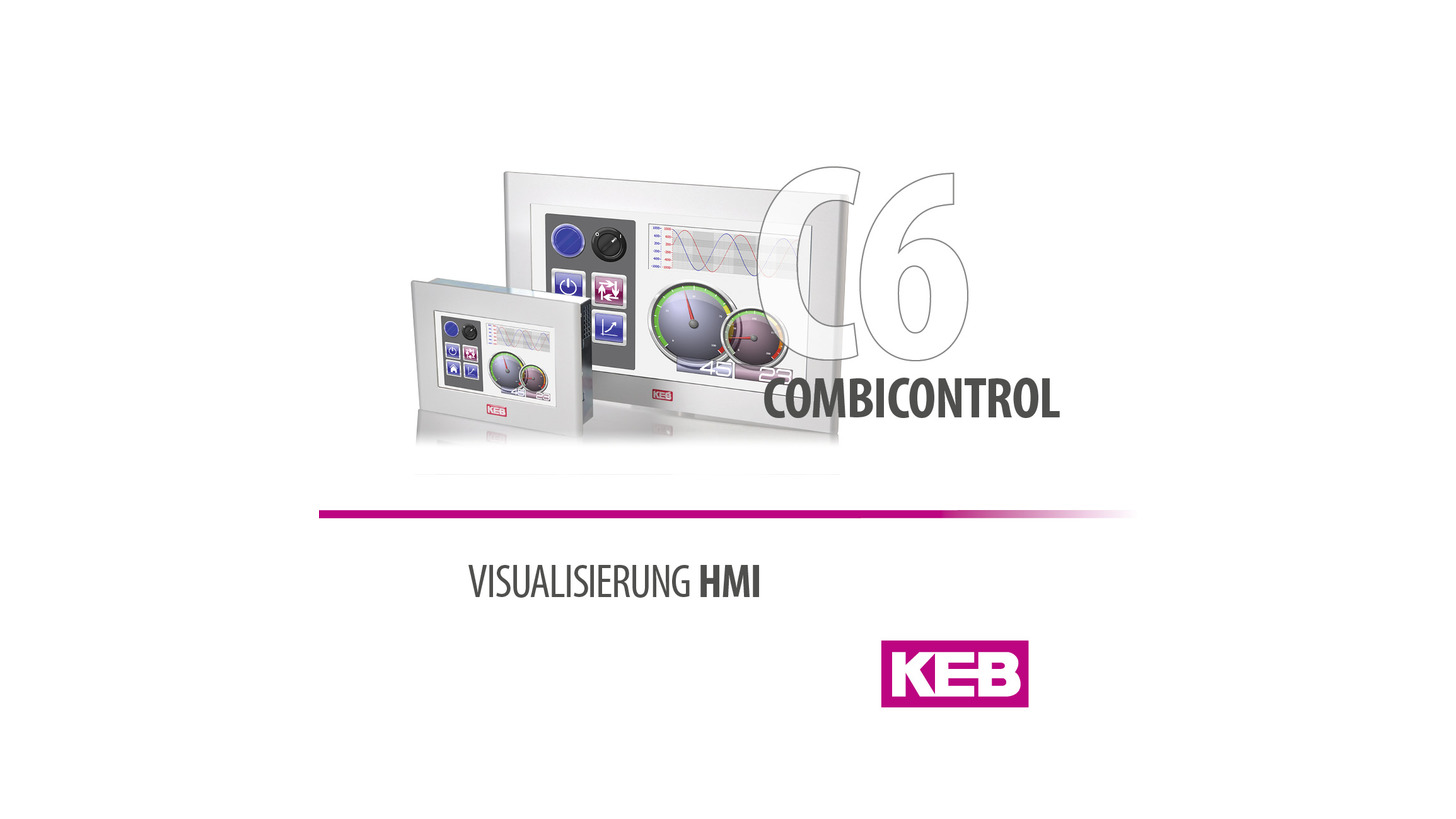 Logo KEB COMBICONTROL C6 HMI - Panel PC