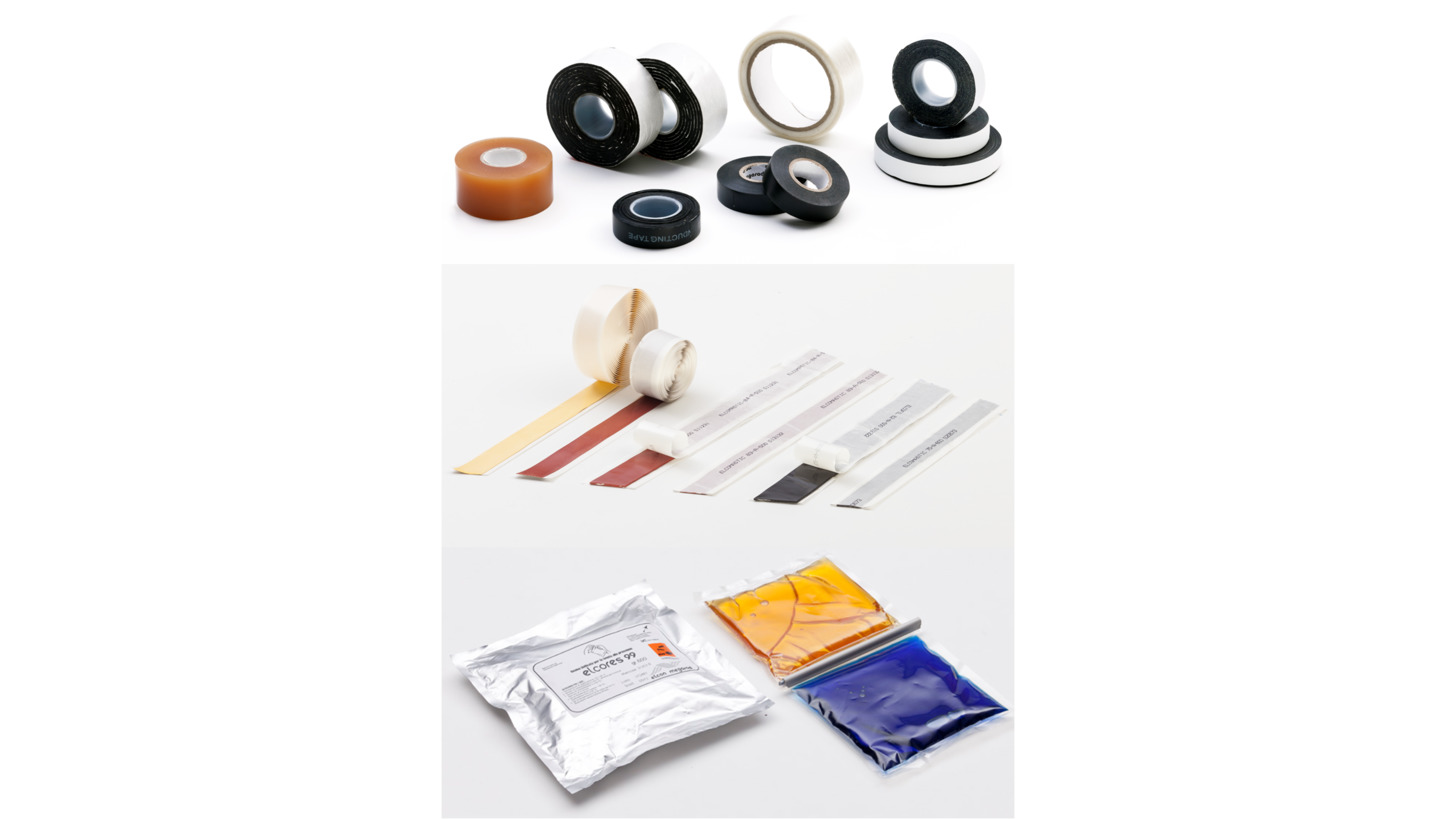 Logo TAPES MASTICS & RESINS