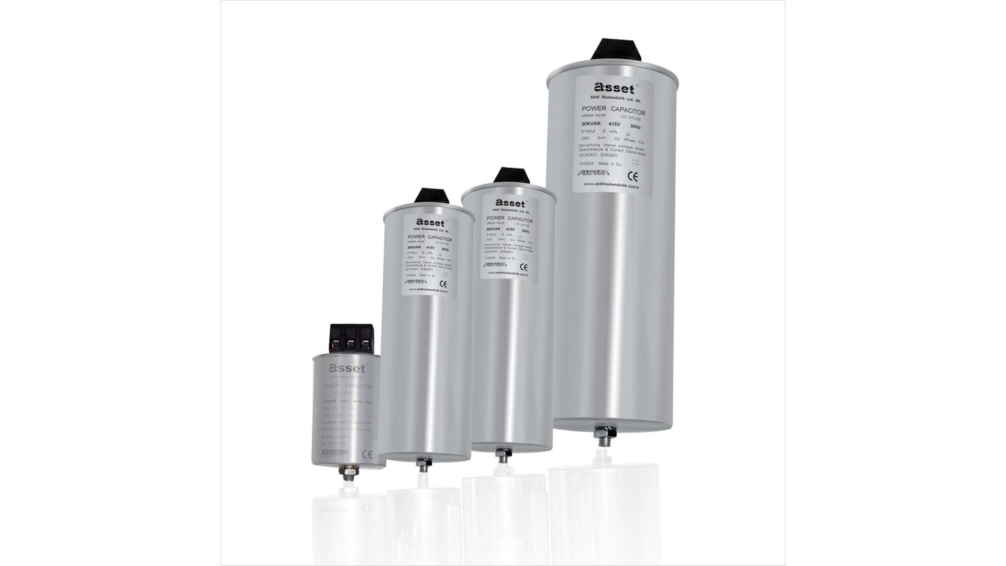 Logo Aluminum Cylindrical Capacitors
