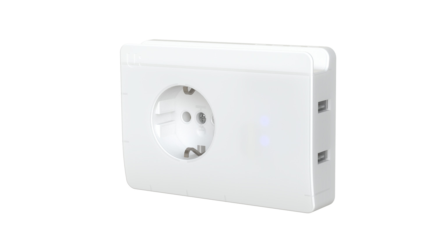 Logo uPlug, charging socket