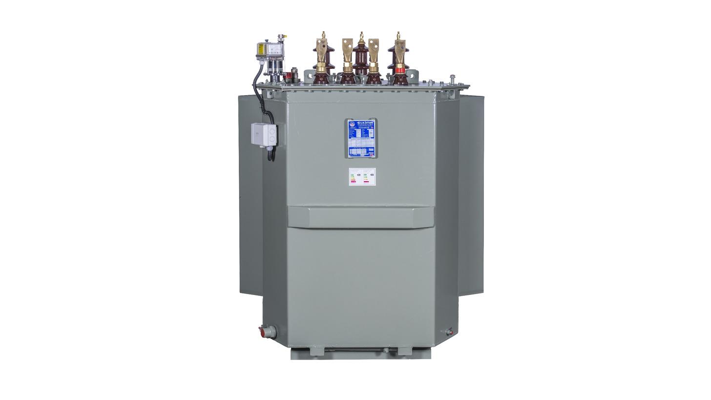 Logo Oil Type Distribution Transformer