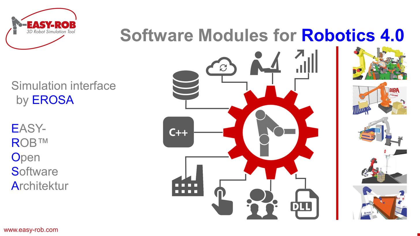 Logo EASY-ROB Robotics Simulation Kernel