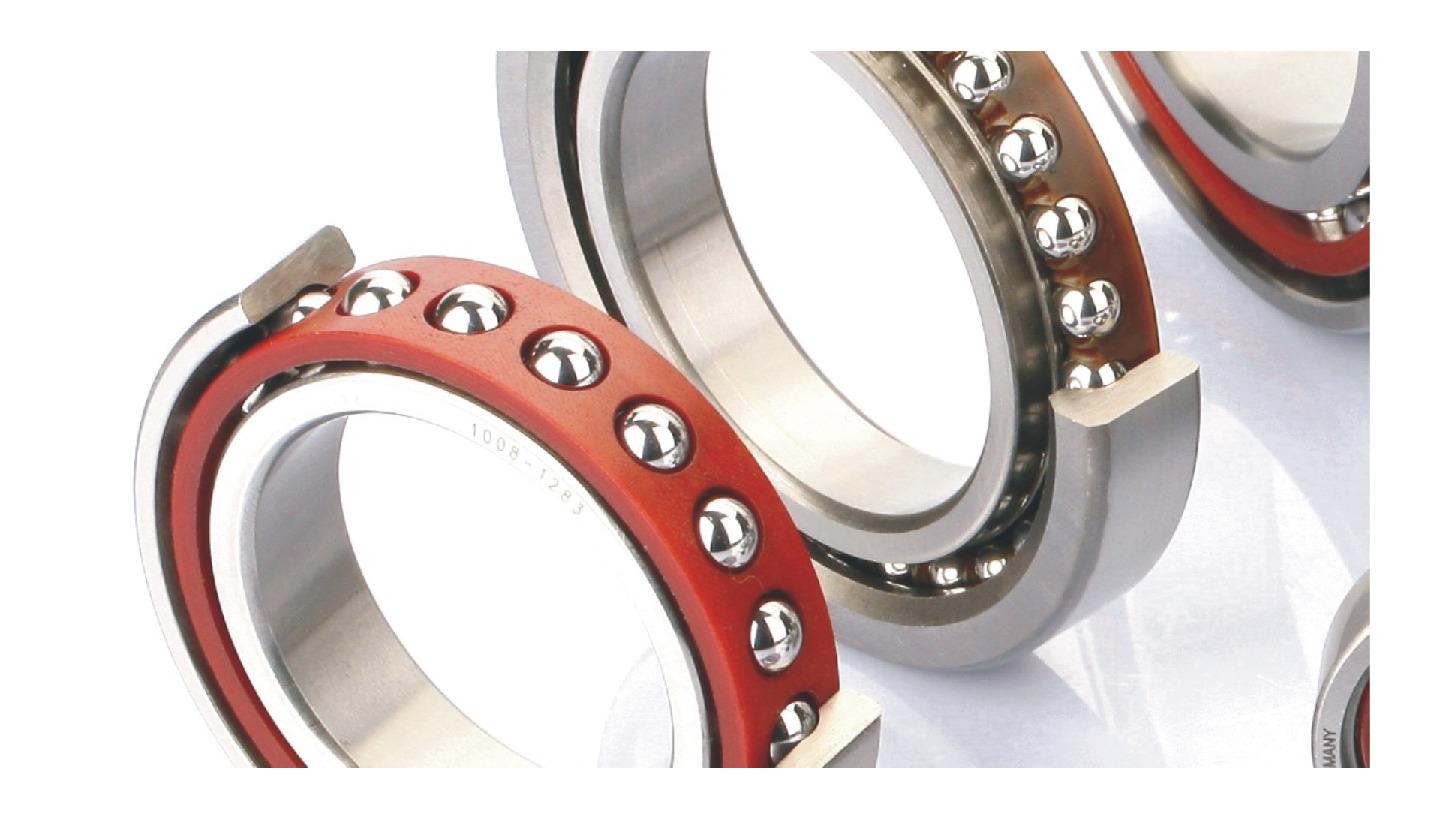 Logo angular contact ball bearing