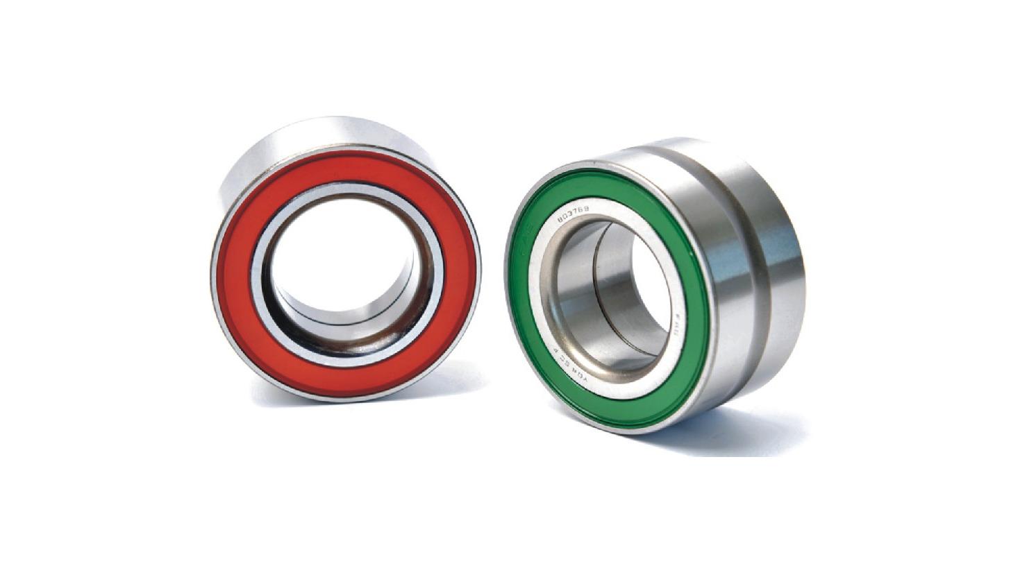 Logo wheel hub bearing