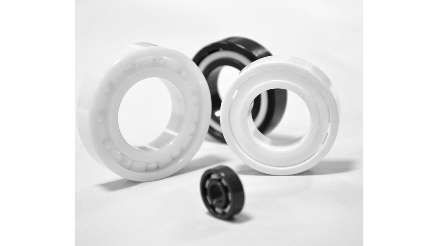 Logo ceramic - stainless - hybrid bearings