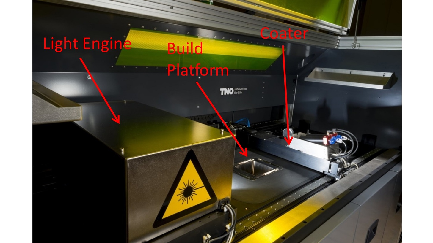 Logo Sensing for additive manufacturing