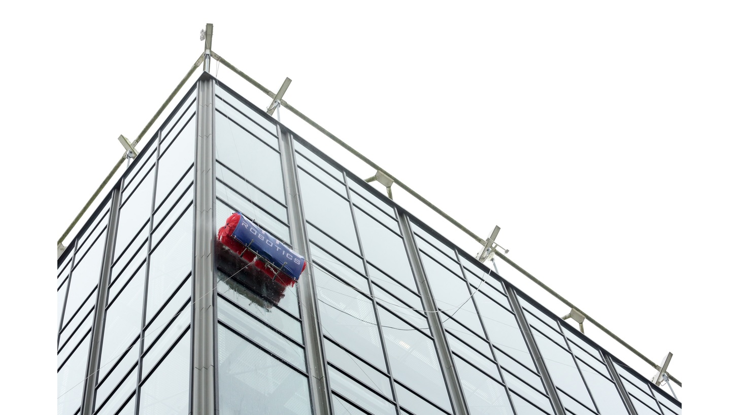 Logo Robotic window cleaning