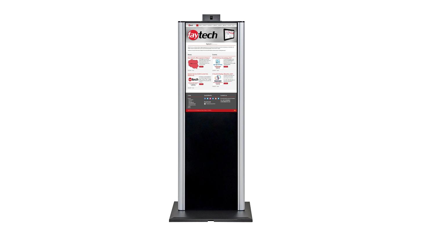 """Logo 43"""" Touch-PC Kioske"""