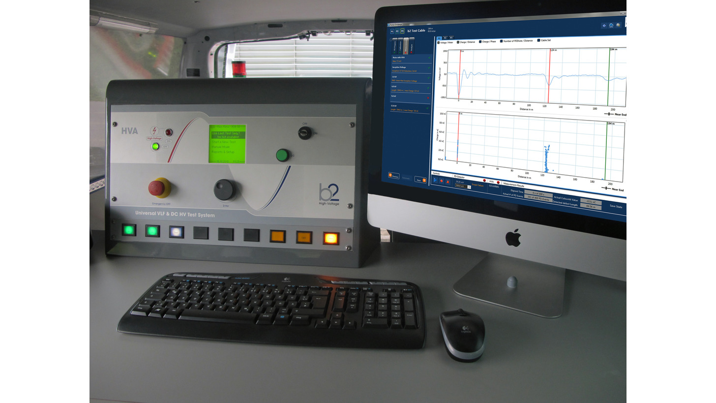 Logo MV Cable Diagnostics Test Van