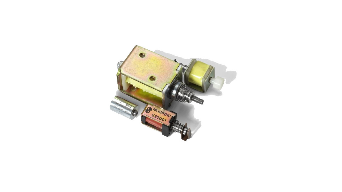Logo Miniature Solenoids for D.C. and A.C