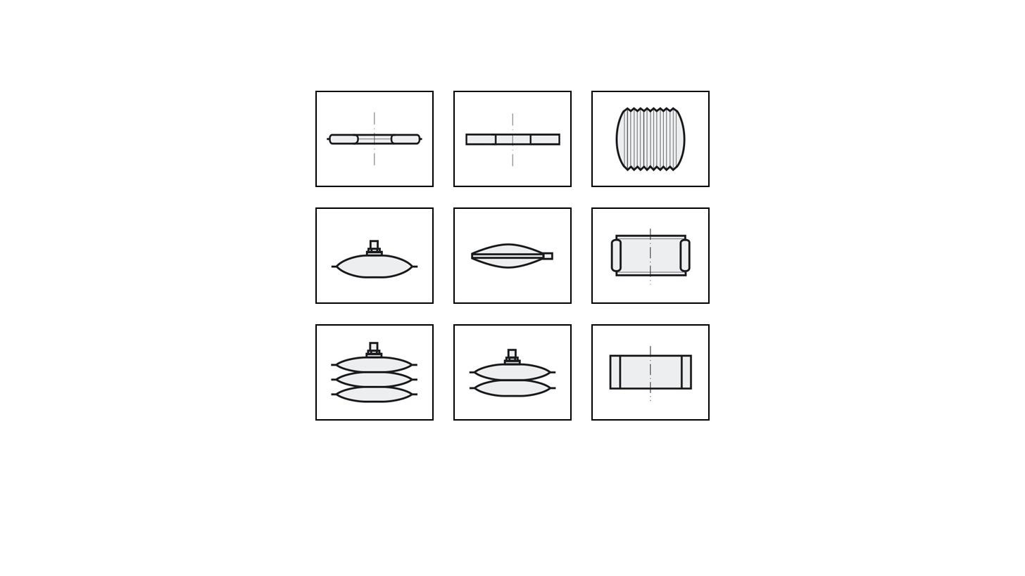 Logo Pneumatic Compression/Lifting Cushions