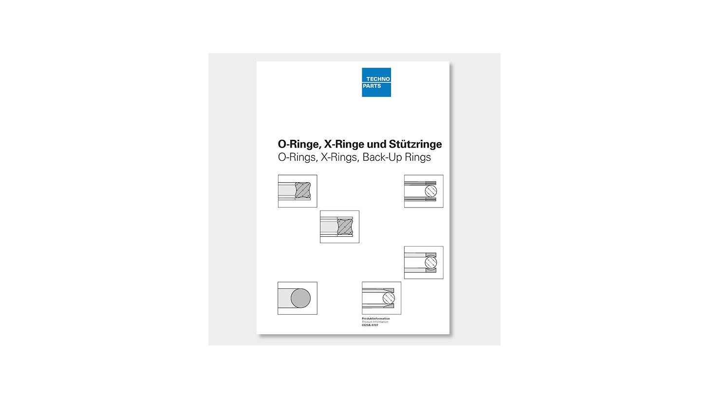 Logo O-Ringe, X-Ringe, Stützringe