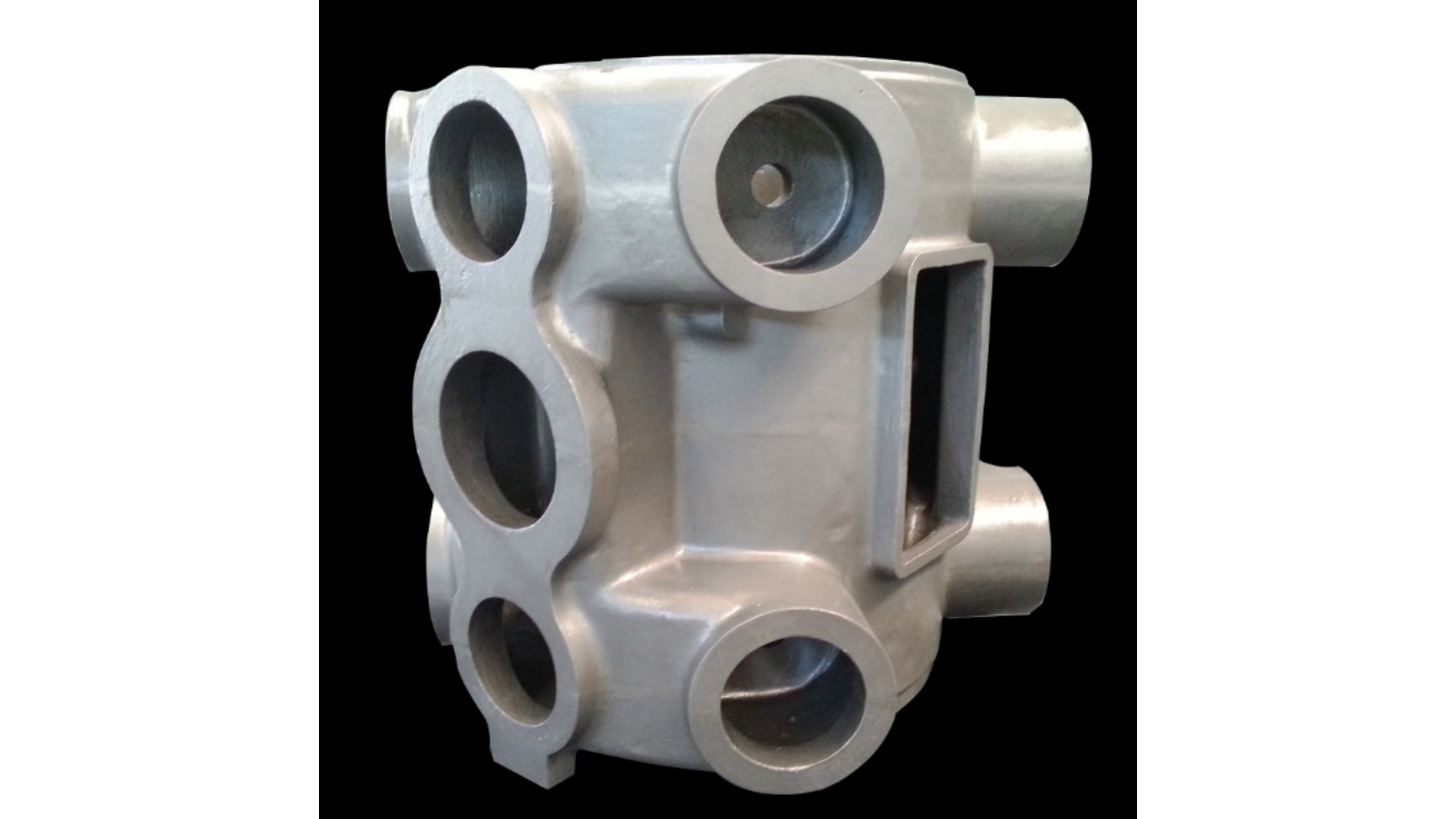 Logo Cylinder Block for Comprssor