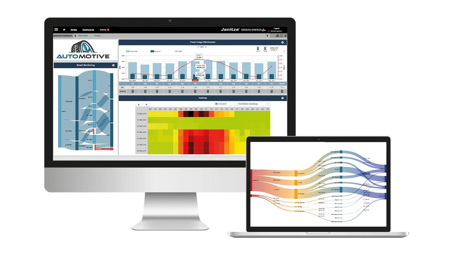 Logo Network visualisation software GridVis®