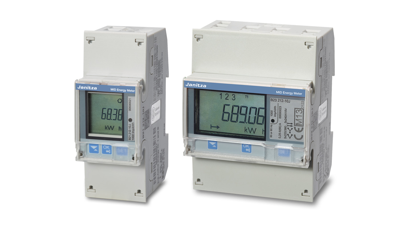 Logo MID energy meter and measurement system