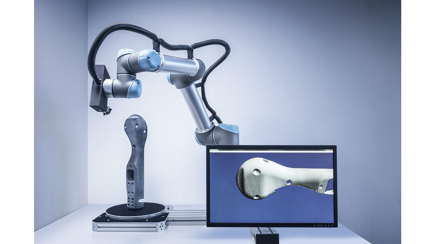 Logo Autonomous 3D scanner