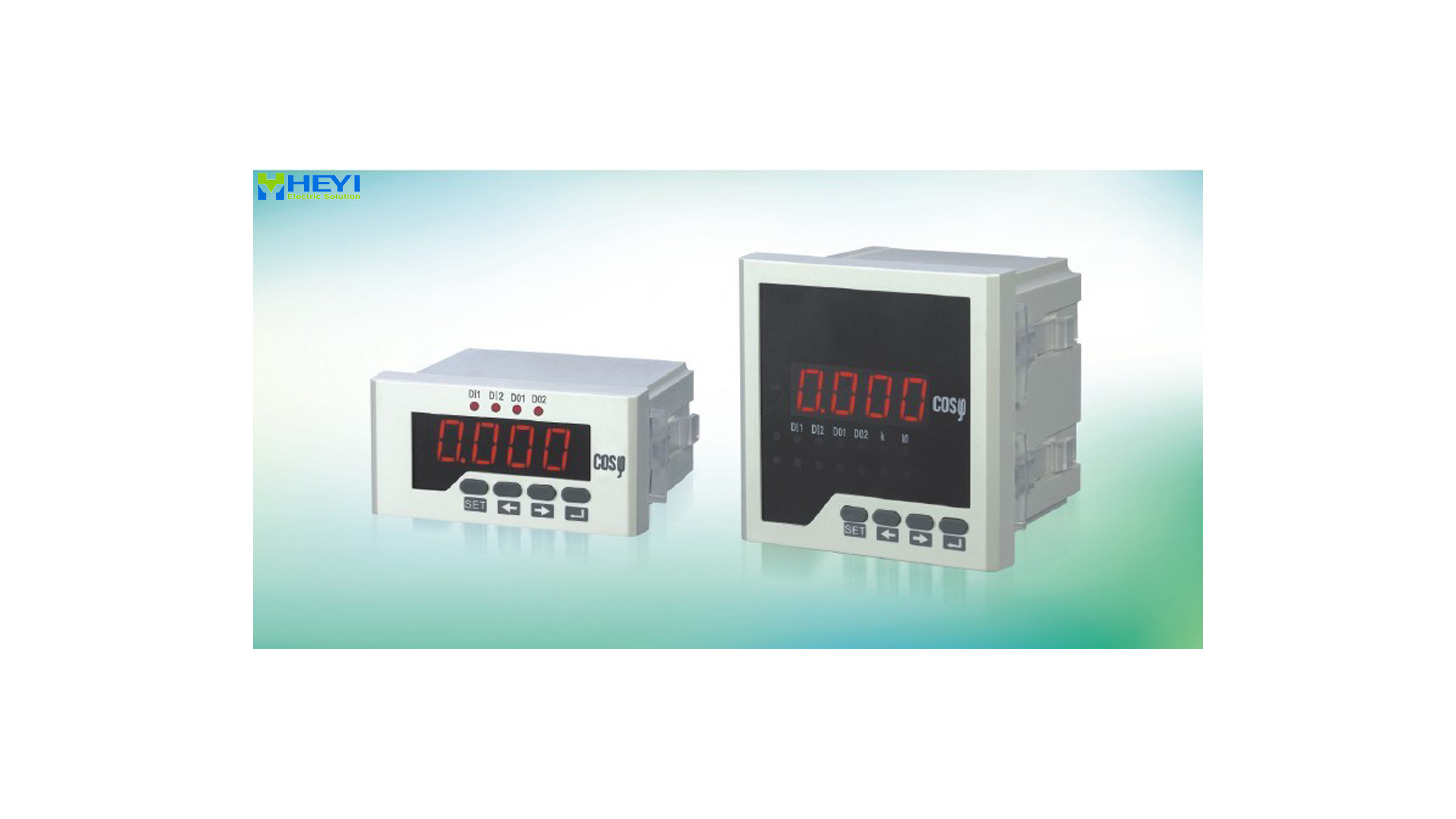 Logo Digital Power Factor Meters