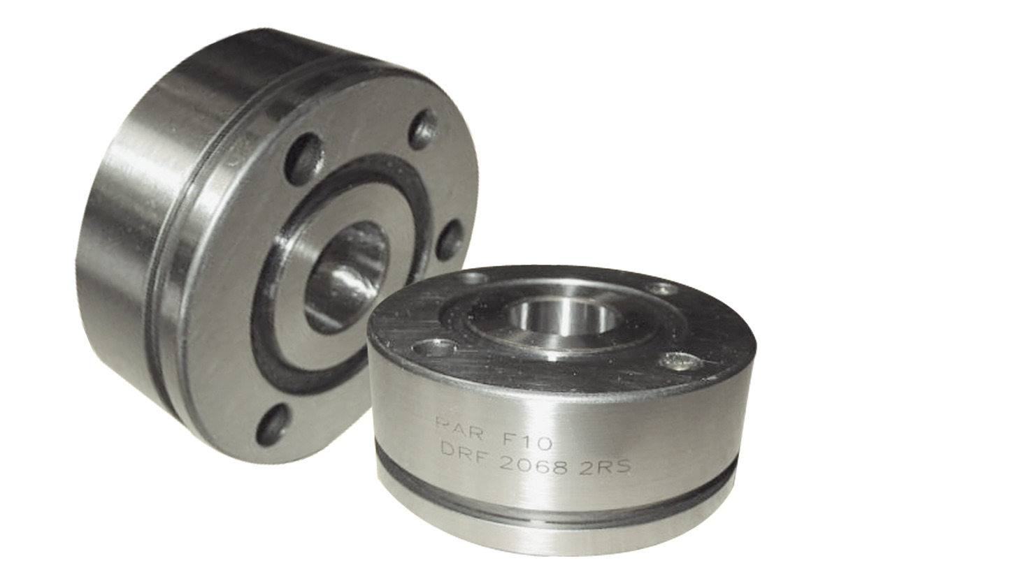 Logo DRF/DRN-bearings Double row angular contact bearings for screw drives