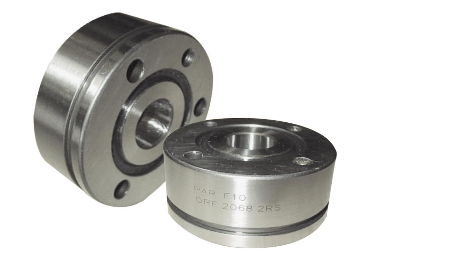 Logo DRF/DRN-bearings Double row angular contact bearings for screw drives