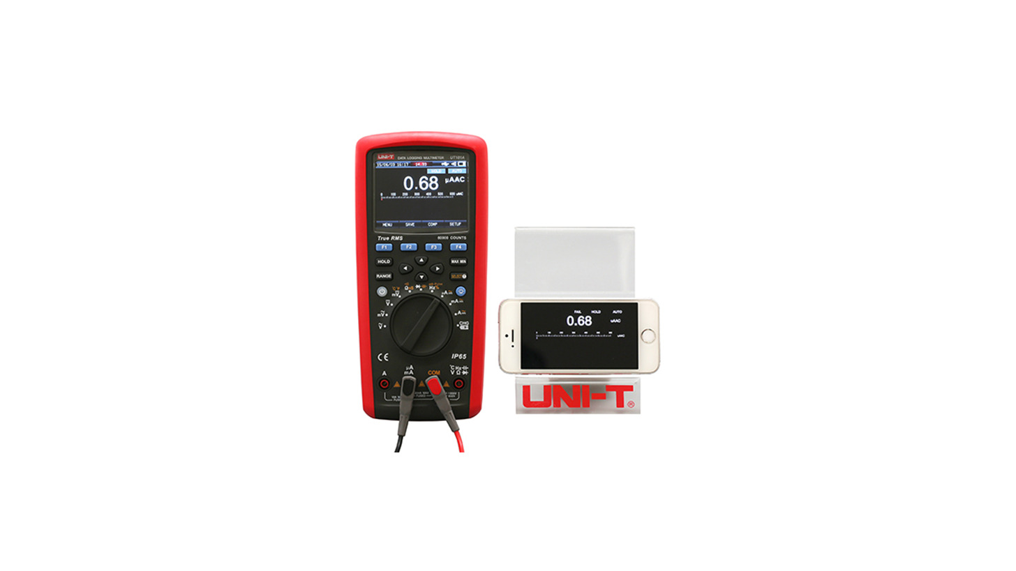 Logo UT181A True RMS Datalogging Multimeter