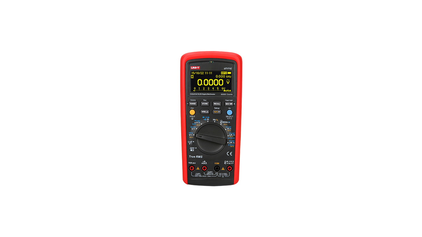 Logo UT171C True RMS Digital Multimeter