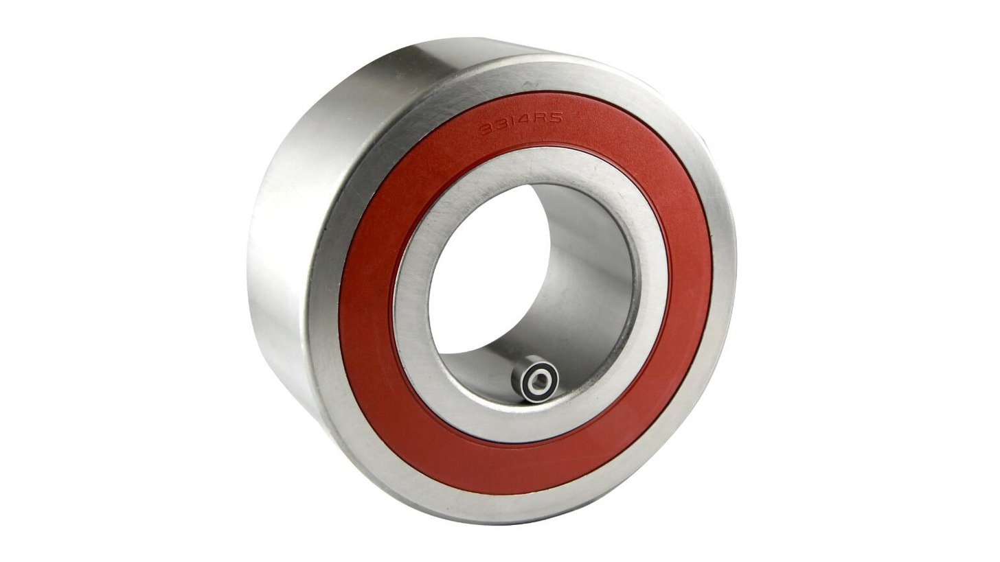 Logo Double row angular contact ball bearing